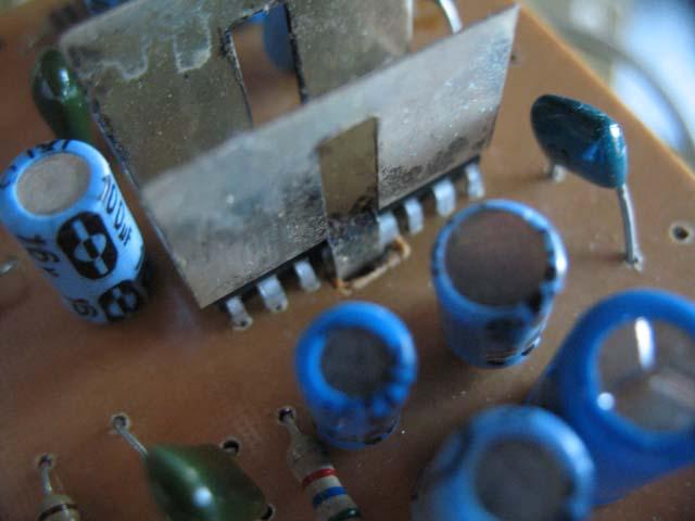 Микросхема усилителя