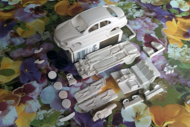 У настоящей ГАЗ-3111 спереди