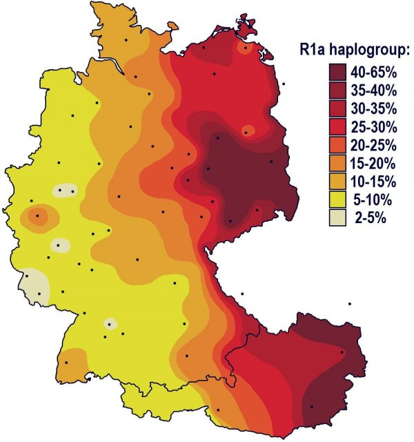 prevalence-of-haplogroup-r1a-in-germany
